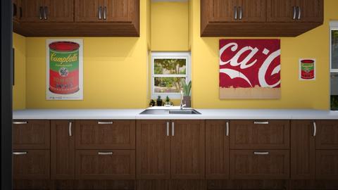 Narrow Kitchen 3 - Kitchen - by SammyJPili