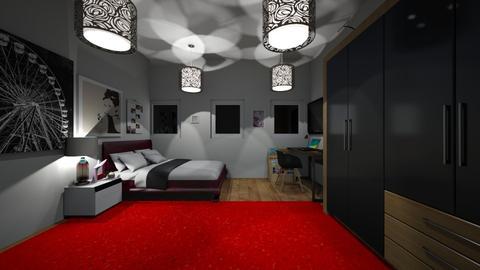 amaizing - Bedroom - by fernanda urrea