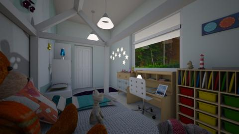 workshop bedroom  - Modern - Bedroom - by TusaTimea