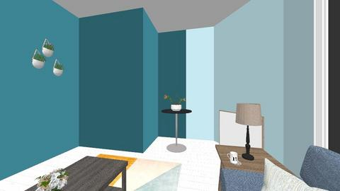 start of dream house - Living room - by Brynlee Chandler