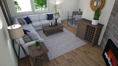 LS for Jenna and Michael - Living room - by TheDutchDesigner