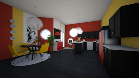 playfull kitchen  - by ambartist123