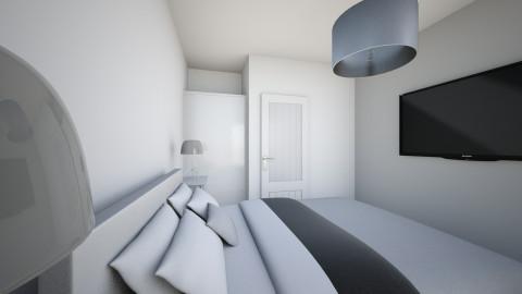 juustyna sypialnia druga  - Minimal - Bedroom - by juustyna