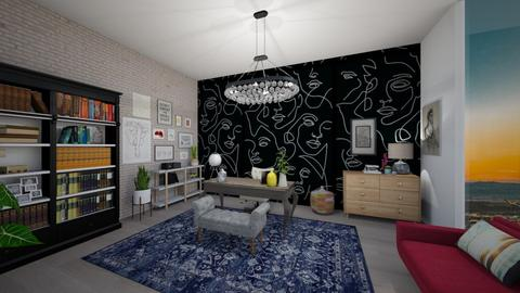 eclectic office - Eclectic - Office - by td123