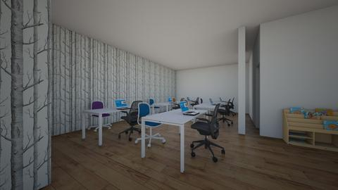 fun office - Modern - Office - by eggboy