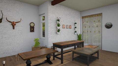 Boho modern office - Office - by Moonpearl
