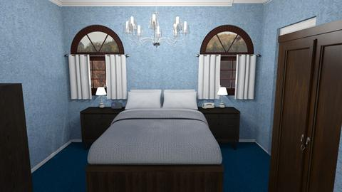 Butler BdRm - Classic - Bedroom - by alonatech_2nd