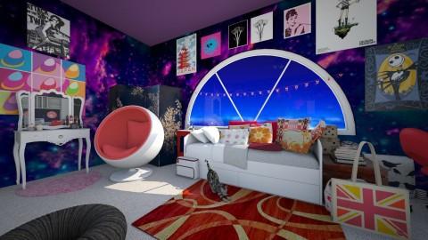 wah - Bedroom - by WainbowKoneko