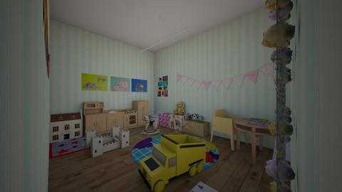 KA Playroom - Vintage - Kids room - by kittytarg