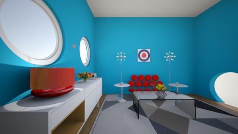 The Geometry Space - Modern - Living room - by ChristopherRzigalinski