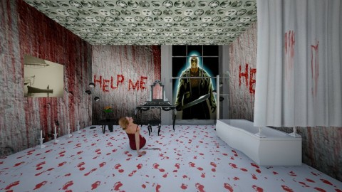 Blood Bath - Modern - Bathroom - by InteriorDesigner111