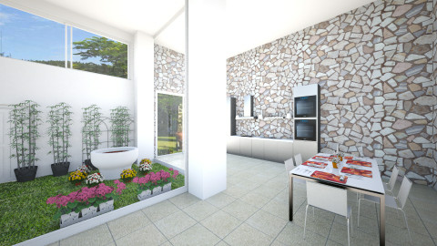 Casa Jardim - Modern - Garden - by violeebarco