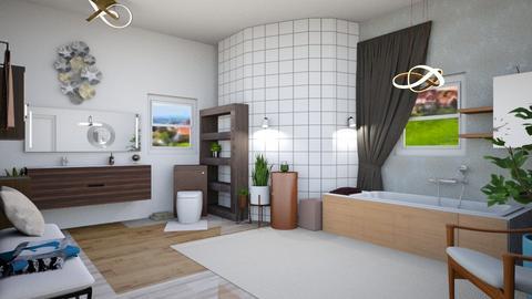 MCM Bathroom - Modern - Bathroom - by Isaacarchitect