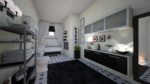 mc bath - Bathroom - by hillygabe