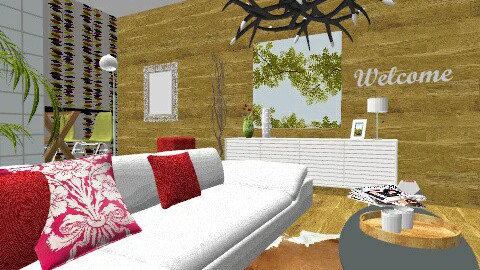 Retrospective - Living room - by Sunshinedriver