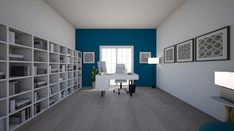 small office - Modern - Office - by ivoryblu