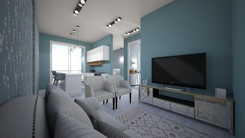 apart dreams - Minimal - Living room - by kelly lucena