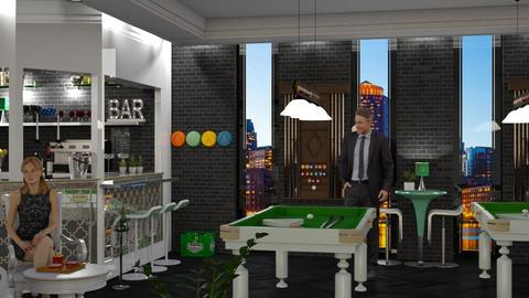 Snooker pub - Office - by soralobo