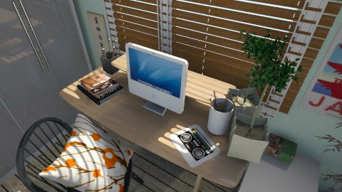 Desk - Bedroom - by Amy Neil