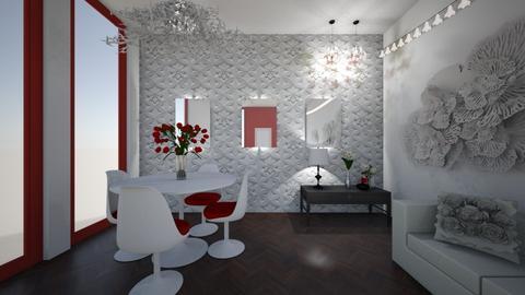 Flowery Outlook - Modern - Dining room - by XiraFizade