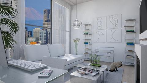 Apartment in Seoul II - Eclectic - Living room - by Theadora