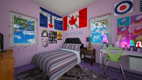 Two thousand five - Bedroom - by ijustlikemakingfloorplans
