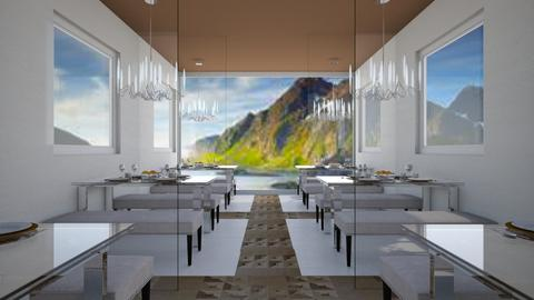 Dining with a View - Modern - Dining room - by millerfam