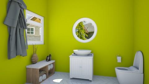 stylish bathroom - Bathroom - by simpledesign27