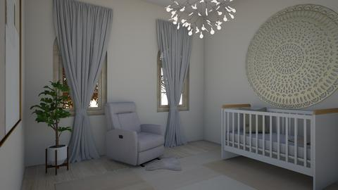 nursery  - Modern - Kids room - by 21harpm