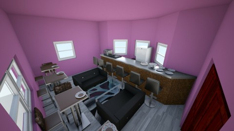famtasy bedroom 1 - Glamour - Kitchen - by hiker437