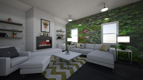 Living Wall - Living room - by PenAndPaper