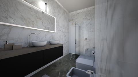 BAGNO Appartamento 7 TMON - Bathroom - by simona30784
