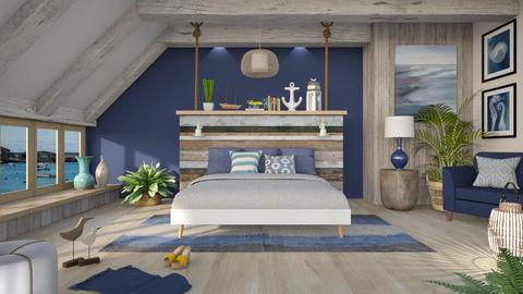 Nautical Nights - Bedroom - by LB1981