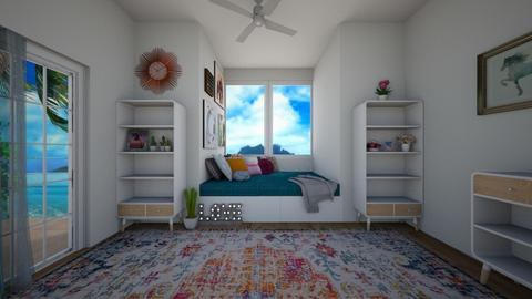 cactus in OBX - Bedroom - by Jenna the great
