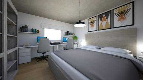 Flat 2 - Eclectic - Bedroom - by Isaacarchitect