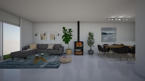 Mira Frenkel 1 - Living room - by erlichroni
