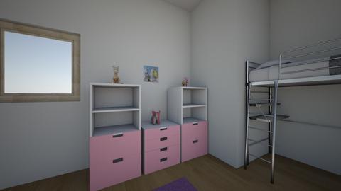 kids bedroom - Bedroom - by Ike29