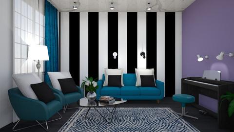 ch b - Living room - by lyub