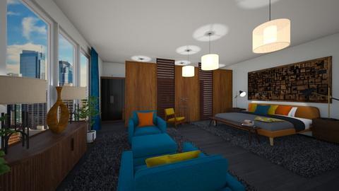 MCM Bedroom - Retro - Bedroom - by jjp513