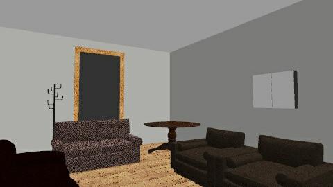 My First 3d - Modern - Living room - by Nasvera