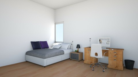 office appartment 1 - Bedroom - by the desingner