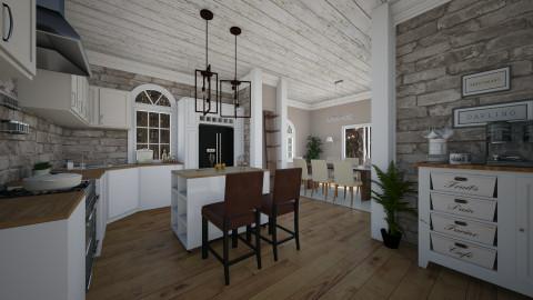 dining room kitchen - Kitchen - by carli1504