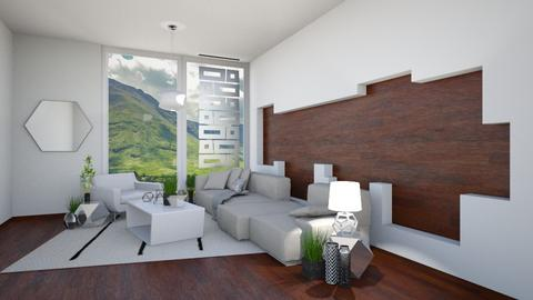 Geometric - Modern - Living room - by Isaacarchitect