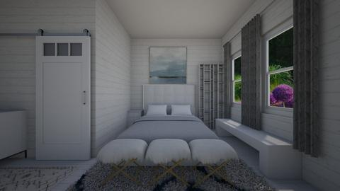Beach Resort Bedroom - Bedroom - by PenAndPaper