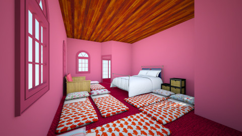 sleepover - Bedroom - by jcflynn