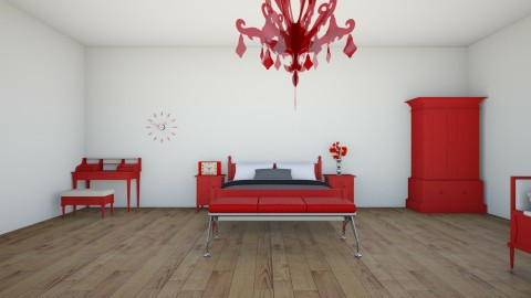 RED HOUSE - by Afreen Badal