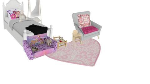 Girly Bedroom - by annatyler08