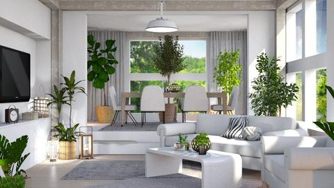 Jungle living - Modern - by triinuteresa