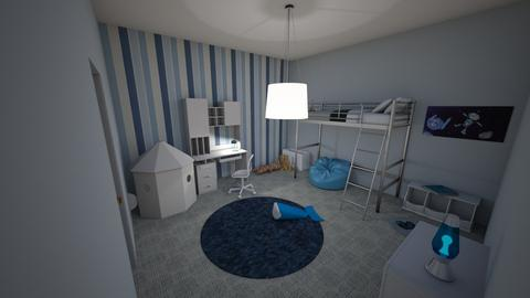 The Fun Spot - Kids room - by Anea Designs