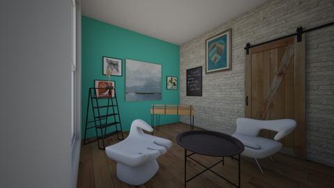 Sophisticated Art Office - by Designer4U